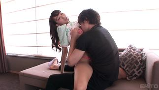 Naughty bosomed Kurea Hasumi and stranger are about to have a good fuck