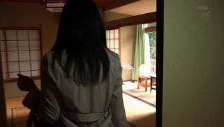 Kinky big boobed Satomi Akari took off her panties and asked her friend to fuck her