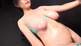 Aroused busty Sakura Mano is getting fucked in her daybed