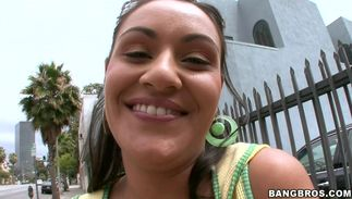 Remarkable Charley Chase with stylish natural tits came home from work and needed a worthwhile fuck as soon as possible