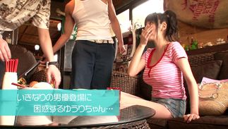 Fresh big boobed Miho Ichiki invited her man for some casual sex