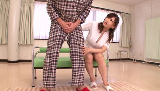 Sugary Anri Okita with handsome tits on a python getting fucked like a sexy pro