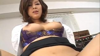 Astounding Romihi Nakamura with round tits has a truly perfect arse and loves to fuck
