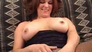 Glorious busty brown-haired Cassie is in the mood to fuck her guy now